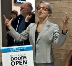 Prof. Janice Lewis Stein at Doors Open