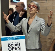 Prof. Janice Lewis Stein at Doors Open