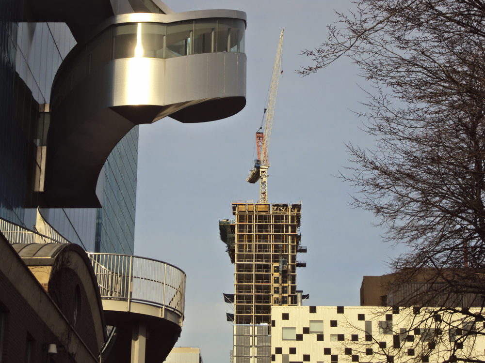 AGO and crane.