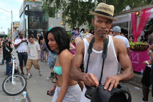 Street celebration in Toronto.