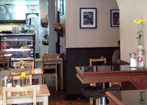 Emma's restaurant interior.