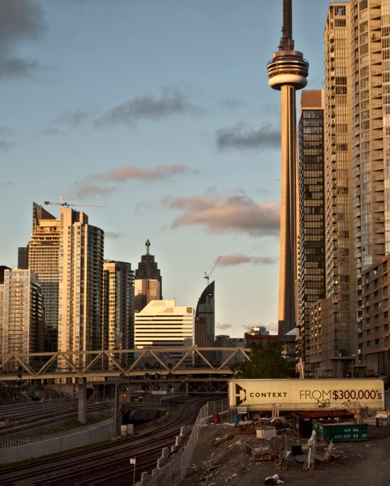 CN tower and condo construction $300000.