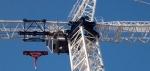 Top of white crane.