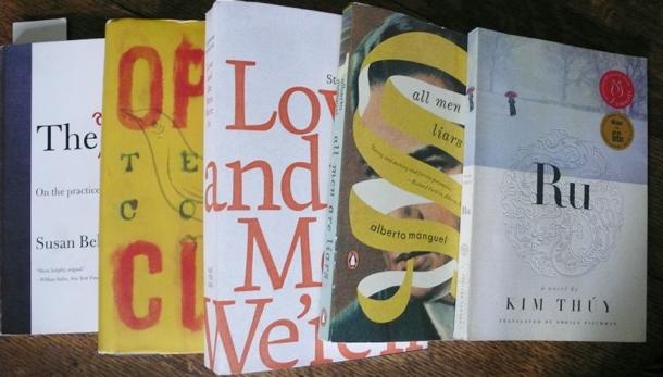Bookclub books.
