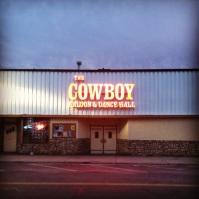 Cowboy saloon in Laramie, Wyoming.