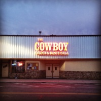 Cowboy saloon in Laramie, Wyoming.