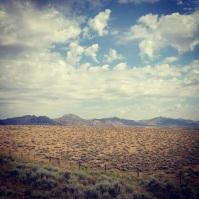 Wyoming landscape.