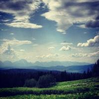 Jackson, Wyoming landscape.