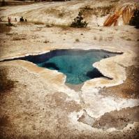 Geyser pool.