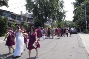 Summer wedding, Bikers in Rome, Torontovisitors