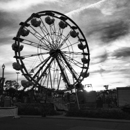 The Ferris wheel at the CNE.