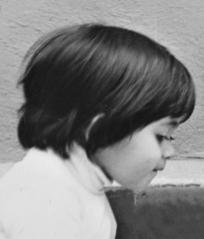 Bravo, age 3.
