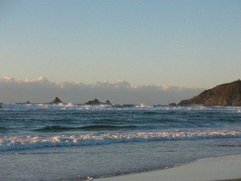 Beach at Cairns