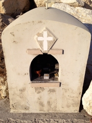 Roadside shrine in Cyprus.