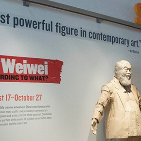 Ai WeiWei Giftshop, Crystal Towers, Journalism Benefit