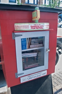 State St theatre little free library.