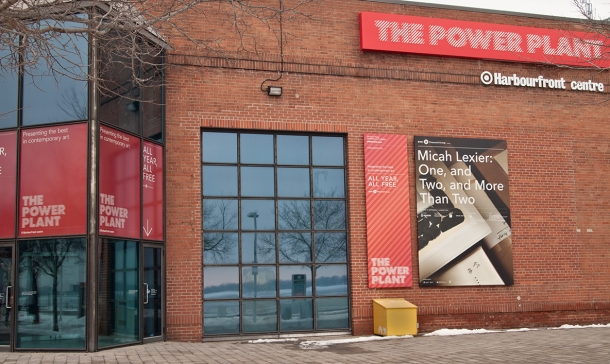 The Power Plant art gallery at Harbourfront.