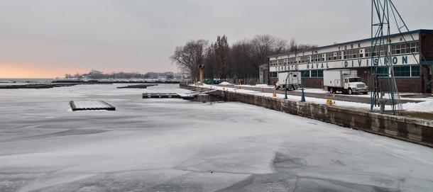Toronto Naval Division on Lake Ontario.