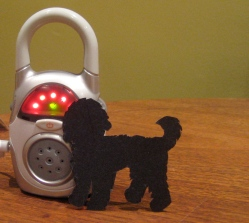 Baby monitor for dog.