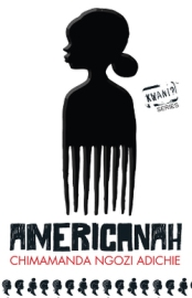 Americanah book cover, Kenyan edition.