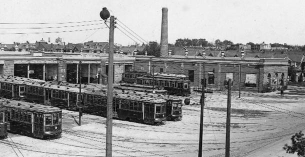Wychwood Barns, 1924.