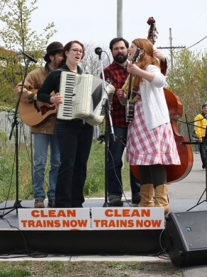 Clean trains now performers.