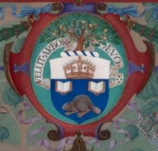 University of Toronto coat of arms.