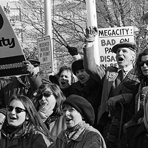 PROTESTING THE MEGACITY: The Activist Camera And CitizenPower