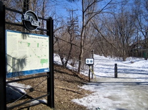 Kay Gardner Beltline trail in Toronto.