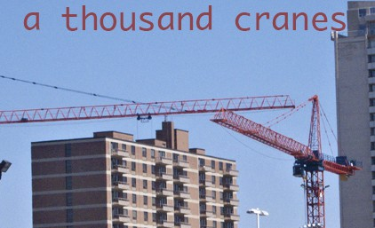a thousand cranes feat