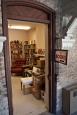 Book room door.