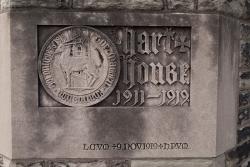 Hart House cornerstone, U of T.
