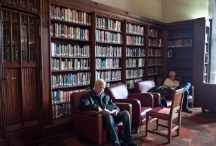 Hart House library.