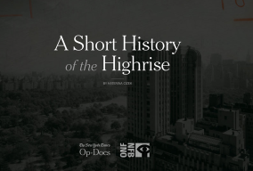 A Short history of the Highrise opening shot.