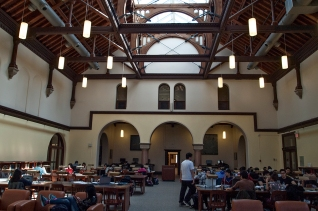 Gerstein reading room.