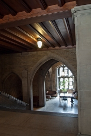 Hart House stairway alcove.