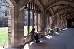 Knox college cloister.
