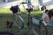 Funeral bike.