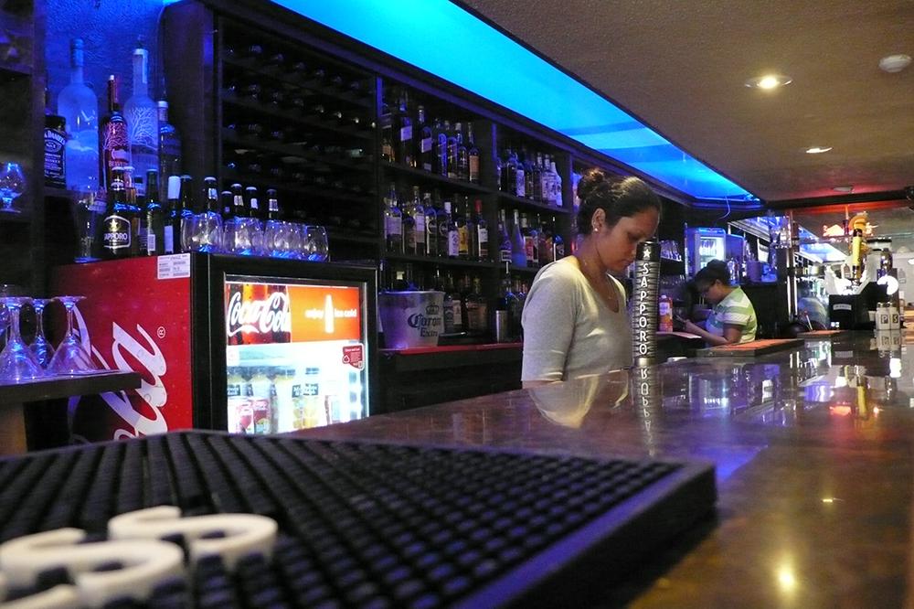 Bar at Tantra Lounge.