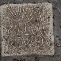 Bike tile.