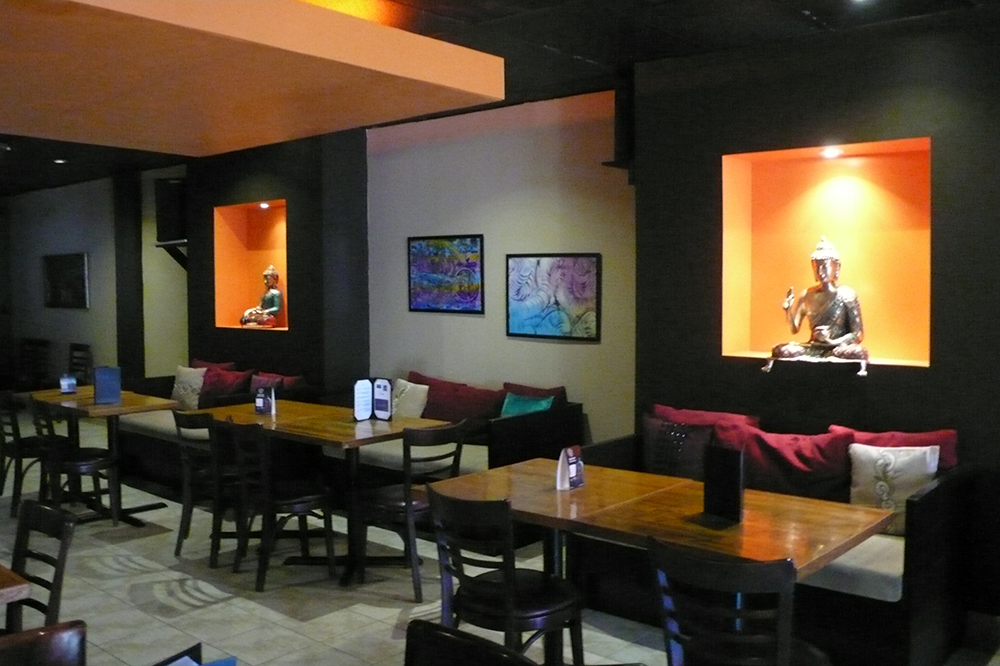 Tantra Lounge dining room.