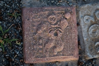 FIgure in tile.