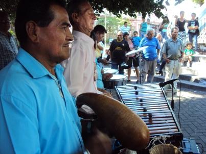 Musicians in Alajuela.