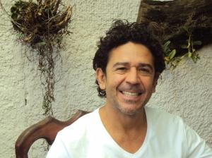 Costa Rican poet Roberto Garcia.