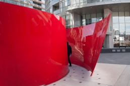 Sculpture Approaching Red.