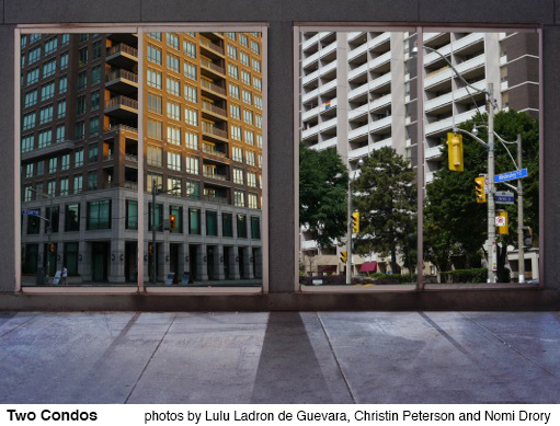 Two condos in Toronto.