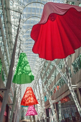 Luminato art in Brookfield Place.