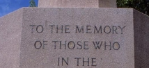 Cenotaph words.