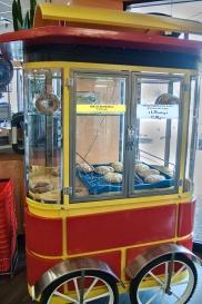 Turkish bagel cart.