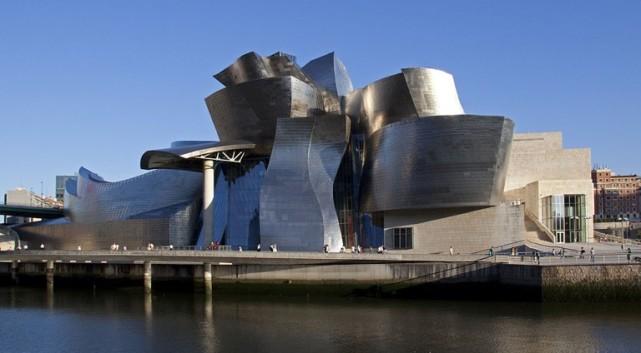 Bilbao Guggenheim museum.